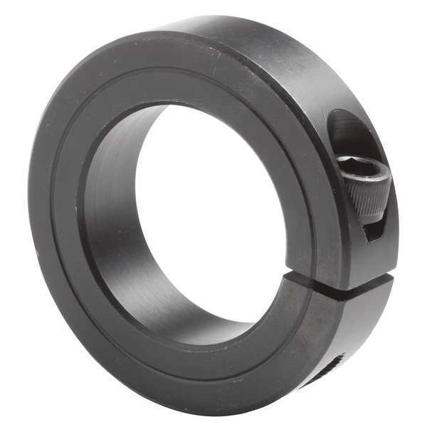 Climax Metal Products Shaft Collar, Std, Clamp, 3-3/16inBoredia H1C-318