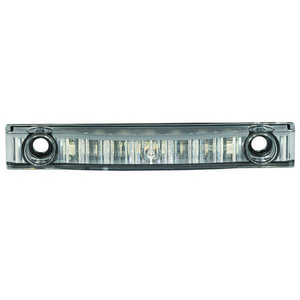MAXXIMA M20341RCL Clearance Marker Light,LED,Red//Clear