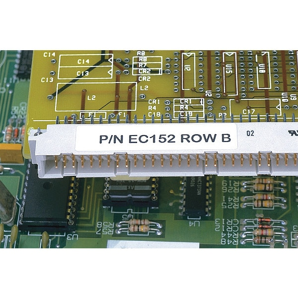 Panduit Laser, Complbl, Polyester, Wh, PK10000 PLL-5-Y2-10