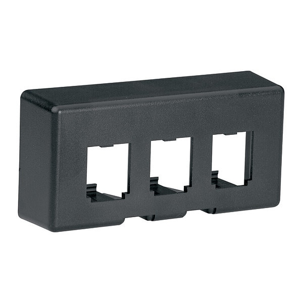Panduit Furniture Faceplate, 3 Port, Knoll M, Bl CFFPE3BL