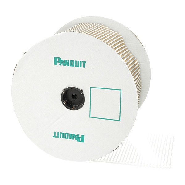 Panduit Cable Tie, Std, 11.3in, Nat, PK2500 PLT3S-VMR