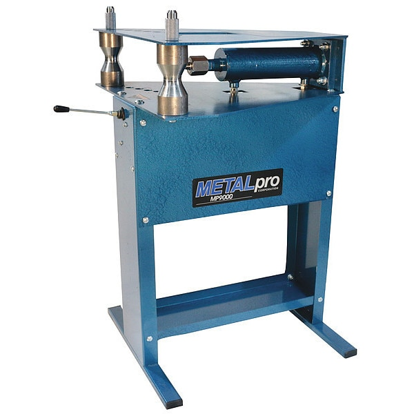 Metalpro Hydraulic Pipe Bender,  0 Shoes,  1/2 to 2 in Size Range MP9000