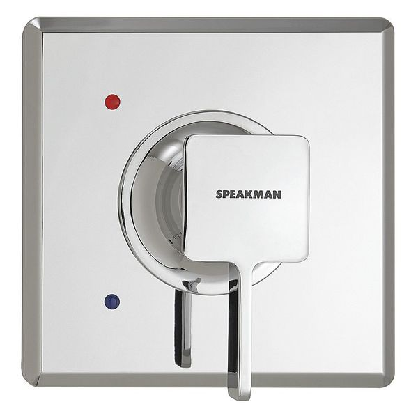 "Speakman Shower Valve Trim 4-5/8""L,  Polished Chrome CPT-1300-UNI"