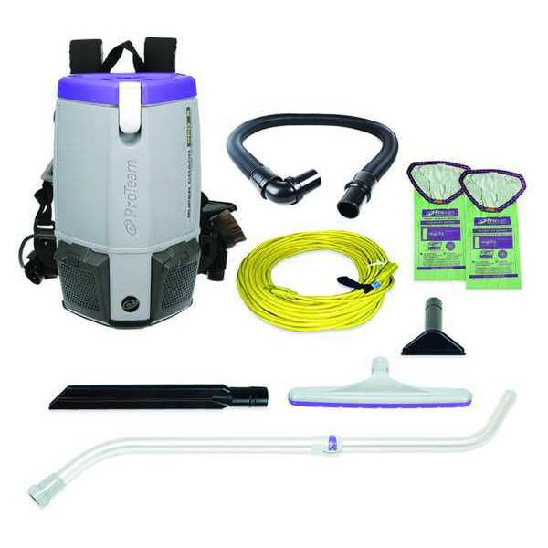 Proteam PROTEAM 6 qt. 120V,  1108W Backpack Vacuum Cleaner 107310