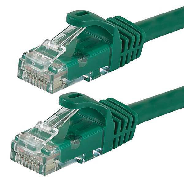 Monoprice Ethernet Cable, Cat 6, Green, 0.5 ft. 9843