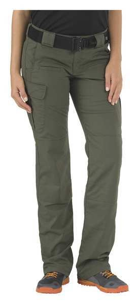 5.11 Tactical Womens Stryke Pant, TDUGreen, L, 2x25-1/2in 64386