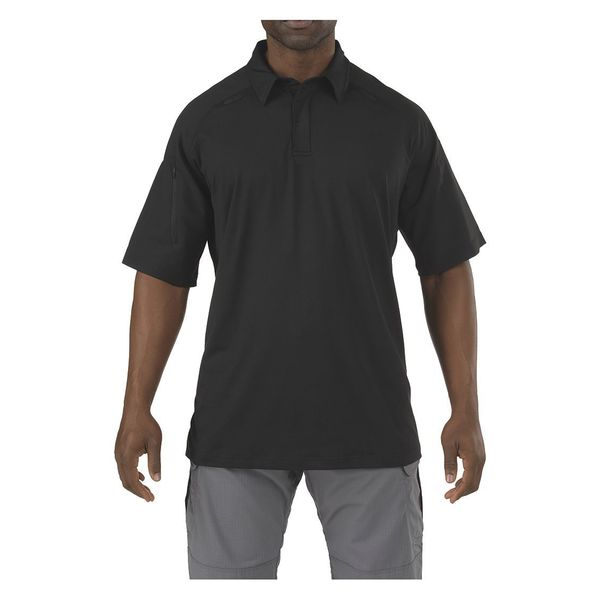 5.11 Tactical Rapid Performance Polo, Black, S 41018