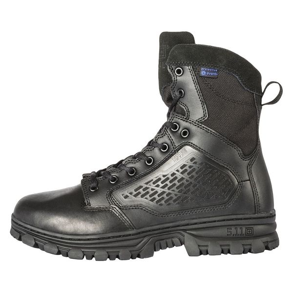 5.11 Tactical Hiking Boots, Mens, 12, D, Black, PR 12313
