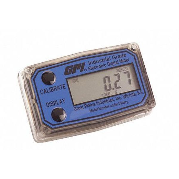 Great Plains Industries Computer Digital Display Gpi Gauge Only,  A109GMX200XB3