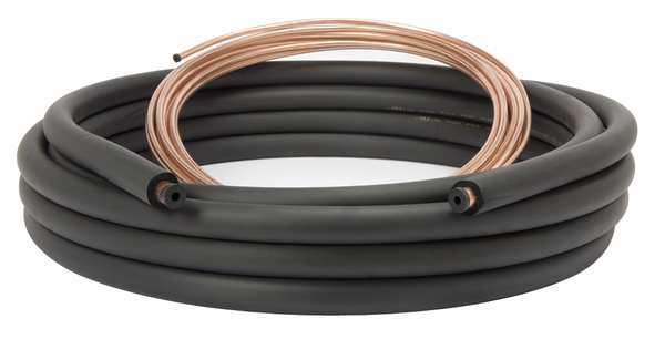 Streamline Refrigerant Line Set, 3/8x5/8, 50Ft 61020500