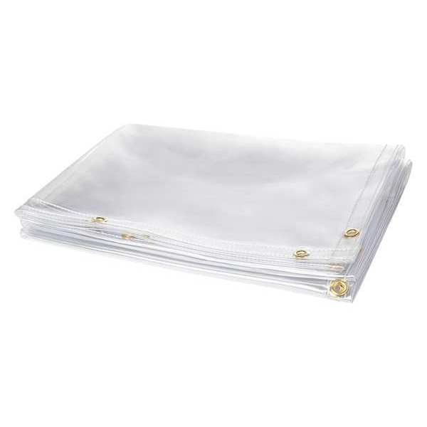 Steiner Barrier Curtain, 8 ft. W x 6 ft. H, Clear 339-6X8