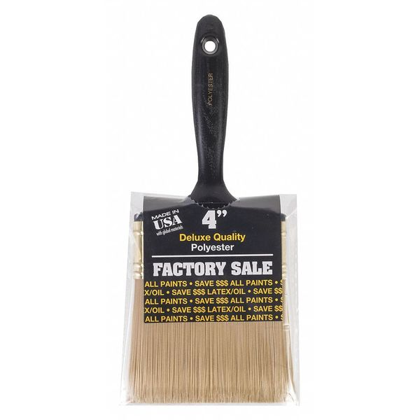 "Wooster 4"" Polyster Wall Flat Paint Brush P3974-4"