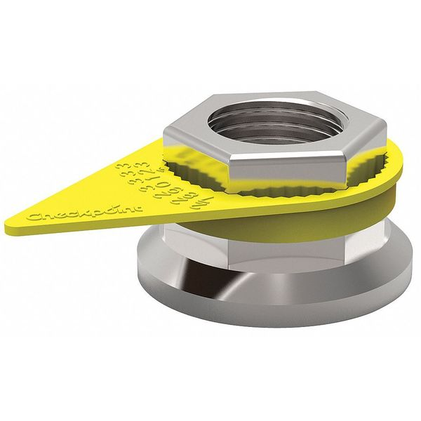 Checkpoint Loose Wheel Nut Indicator, 28mm, Plastic CPY28MM