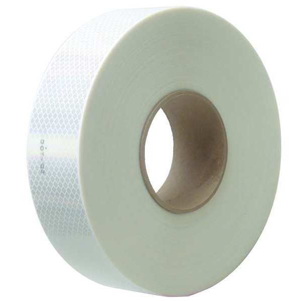 3M Reflective Tape, White, 2 in. W 973-10