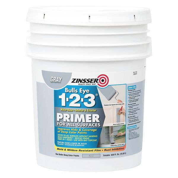 Zinsser 5 gal. Gray Water Primer 285090