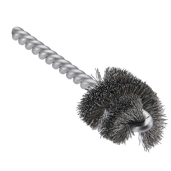 """Tanis 2-1/2"""" L Fitting Brush,  , Stainless steel 06391"""