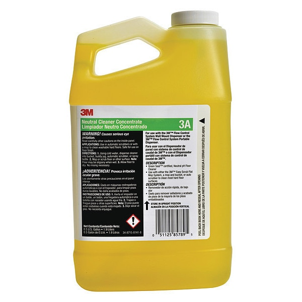 3M Neutral Cleaner,  Use With 3M System 3A