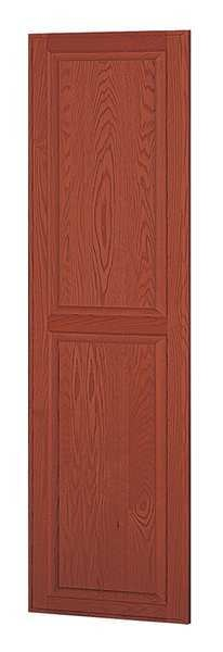 Salsbury Industries End Panel, Medium Oak, 72 in. H x 24 in. W 11137MED