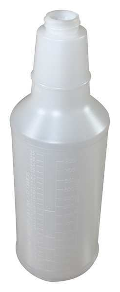 Impact 32 oz. Clear,  Polyethylene Bottle,  Includes: Anti Back-Off Lock 5032AB-90