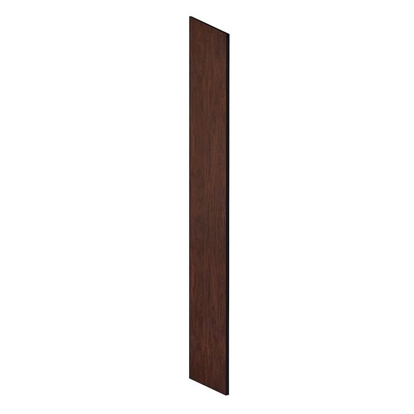 Salsbury Industries End Panel, Mahogany, 78-5/8 in H x 18 in W 22234MAH
