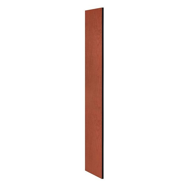 Salsbury Industries End Panel, Cherry, 72 in. H x 18 in. W 22233CHE