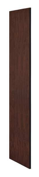 Salsbury Industries End Panel, Mahogany, 72 in. H x 21 in. W 22235MAH