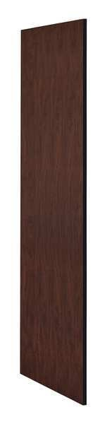 Salsbury Industries End Panel, Mahogany, 72 in. H x 24 in. W 22237MAH