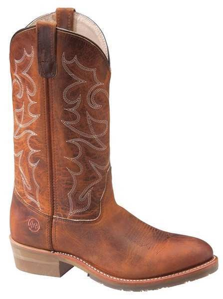 Double H Boots Size 9-1/2 Men's Western Boot Steel Work Boot,  Brown DH1592 SZ: 9.5D