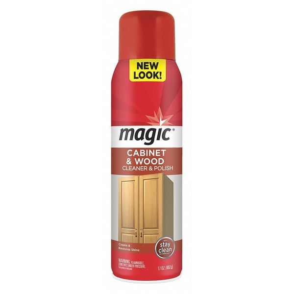 Magic Cabinet and Wood Cleaner, 17 oz. 3063