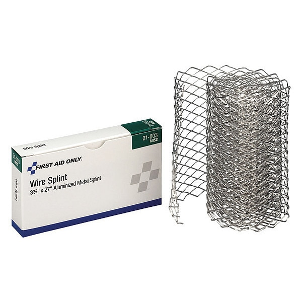 First Aid Only Pac-Kit Wire Splint, 3-3/4 x 30 in. 21-003