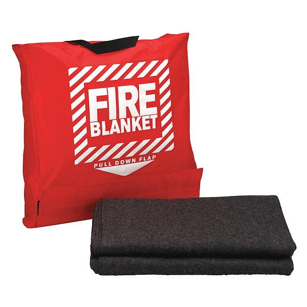 First Aid Only Fire Blanket and Bag 21-650