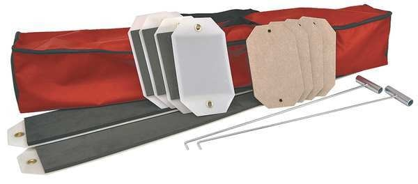 Surface Shields Surface Sled Kit, 63 in.L, Red SLEDKIT