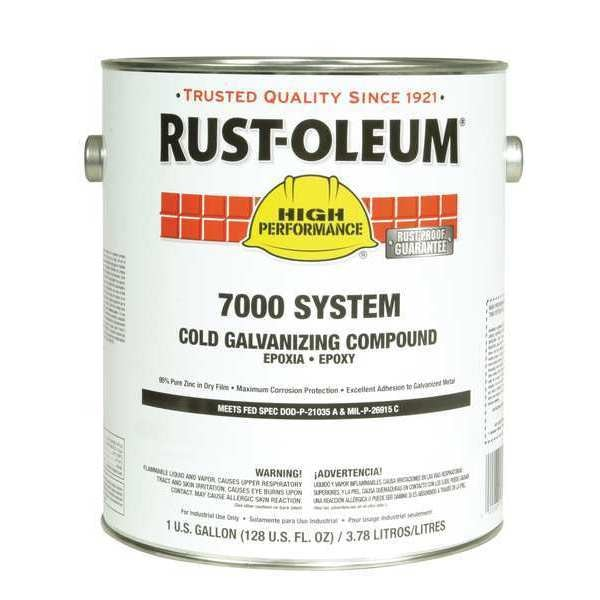 1 gal  Gray Solvent Galvanizing Compound