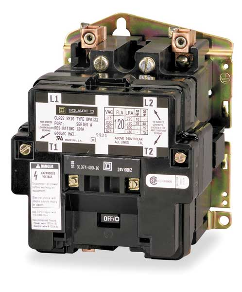 Square D By Schneider Electric 8910dpa72v14  168 45 24vac