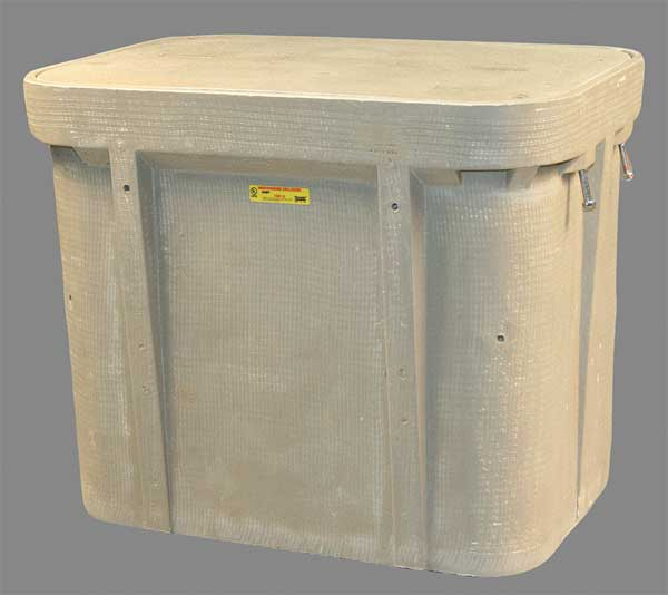 "Quazite Undrground Enclosure, 15,000 lb., 22-1/4""W PG2436Z81112"