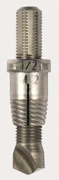 Alden Drill/Extractor Tool, 3/8 Size/Capacity 3757P