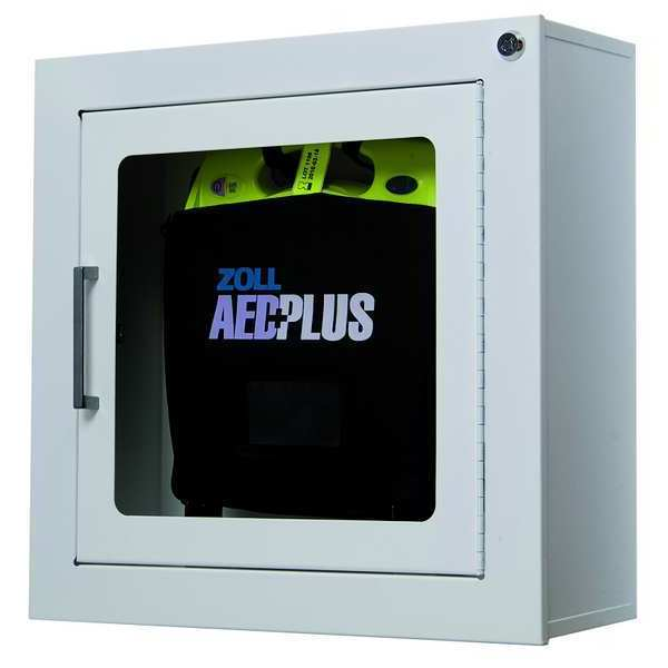 Zoll Defibrillator with Wall Cabinet,  Auto 22900700702011010