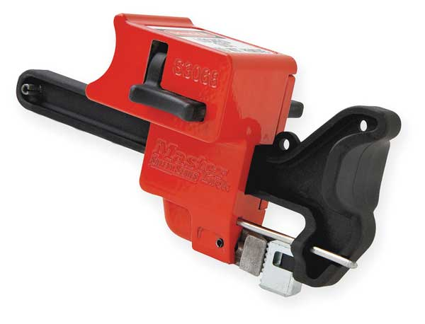 Master Lock Ball Valve Lockout, Fits 1/4 to 4 In S3068