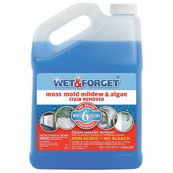 Wet And Forget Mold and Mildew Remover, 1 G 800006