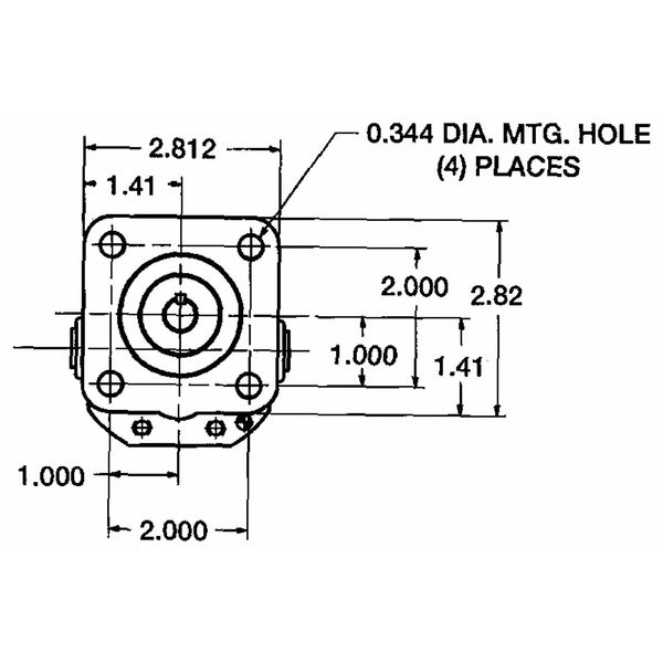Concentric 1070047 Motor Fluid 2.8 GPM