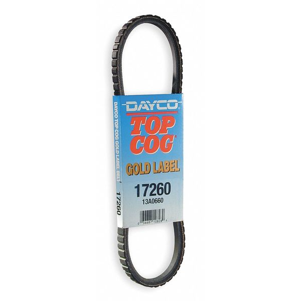 Dayco Auto V-Belt, Industry Number 13A1005 17395