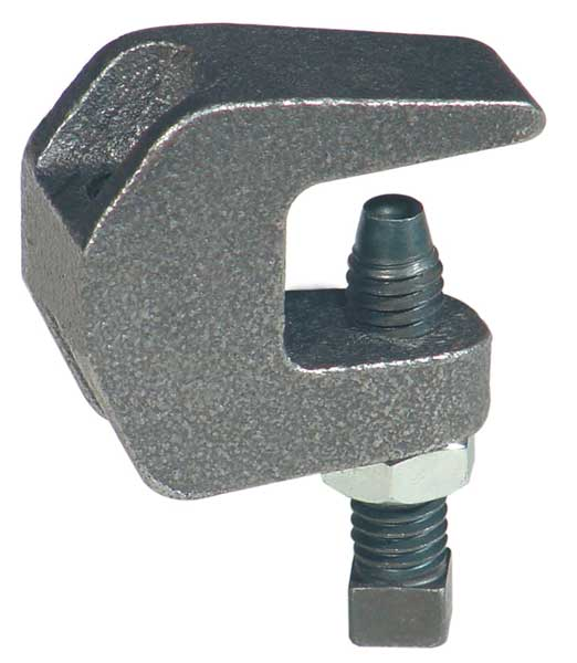 Anvil Beam Clamp, Rod Sz 3/8 In, Ductile Iron 0500009063