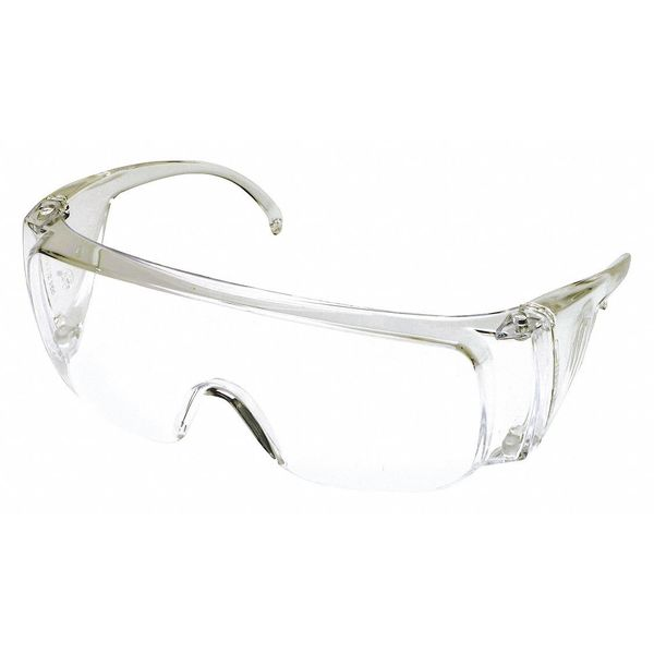 Mcr Safety Yukon® Safety Glasses Clear Frm And Clear Uncoated Lens 9800B