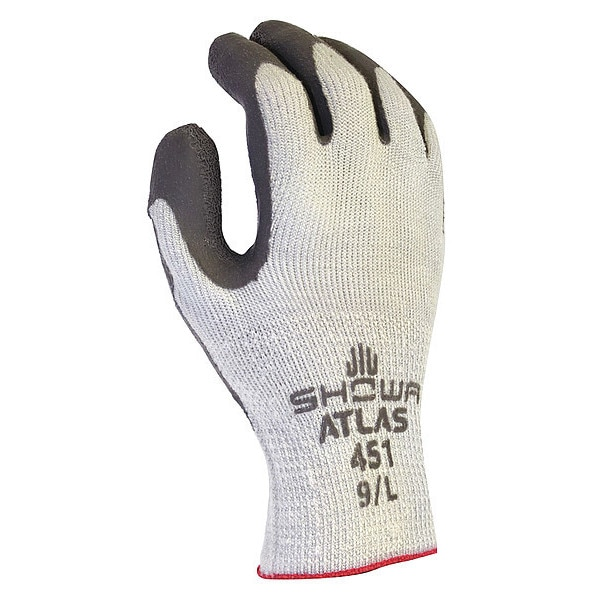 Showa Best Cut Resist Gloves, M, Knit Wrist, Gray, PR 451M-08