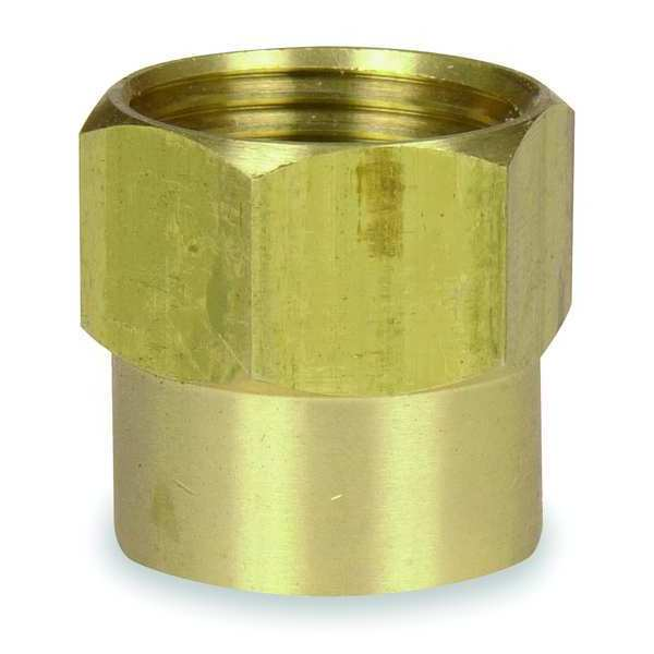 Westward Hose To Pipe Adapter, Double Female 4KG86
