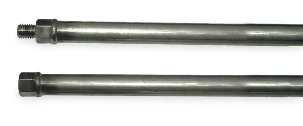Ams Extension, Length 24 In, 5/8 In Thread, SS 409.07
