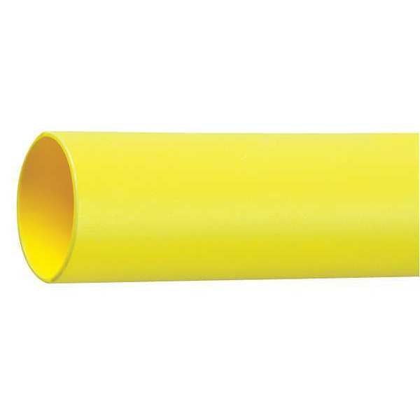 3M Shrink Tubing, 3.0in ID, Yellow, 50ft FP301-3-50'-YELLOW-SPOOL