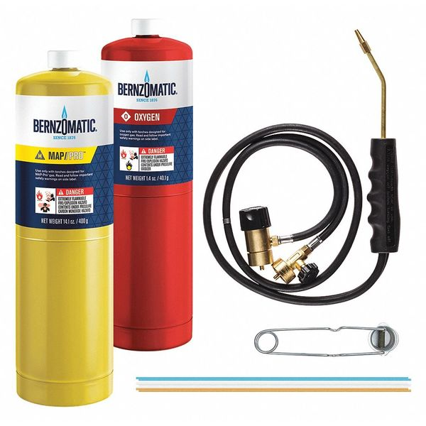 Bernzomatic Brazing Torch Kit with Trigger Start WK55000X WK55000X