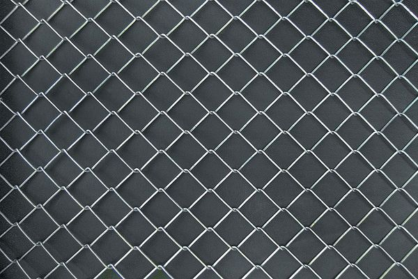 Zoro Select Chain Link Fencing  Fabric,  6 ft. H x 50 ft. L 4LVK9