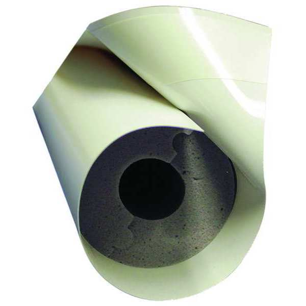 """Techlite Insulation 1"""" x 4 ft. Pipe Insulation,  1"""" Wall 0879-0100IP100-PF-0920-01"""